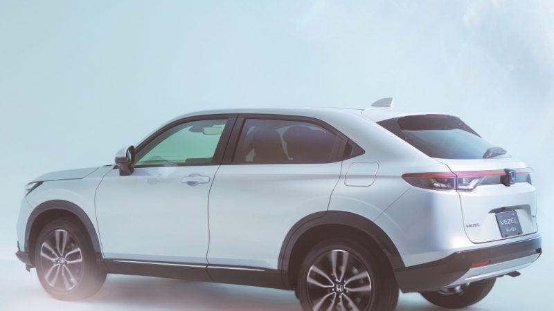 Honda готовит к выпуску новый кросс ZR-V 2021: первые рендеры
