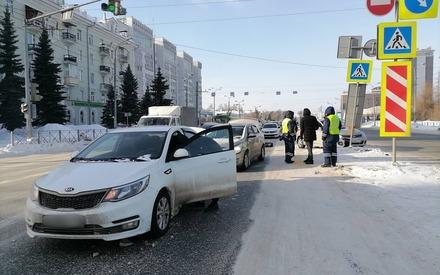 Массовое ДТП произошло в Казани из-за женщины-водителя, она скрылась с места происшествия