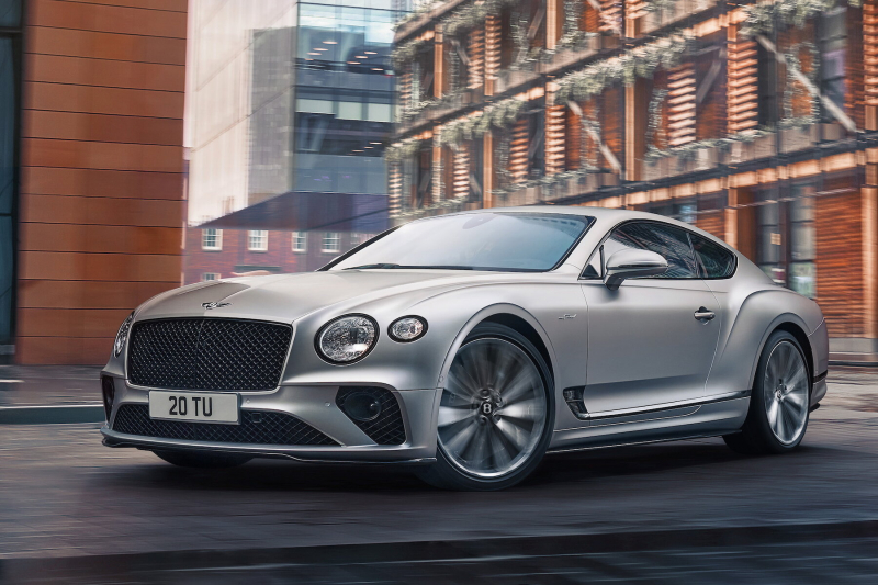 Bentley Continental GT Speed стал самым быстрым дорожной машиной в истории бренда