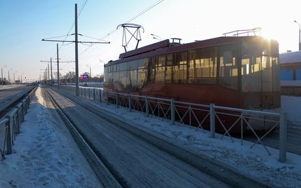 Водитель трамвая в Казани оставил место ДТП после падения пассажирки
