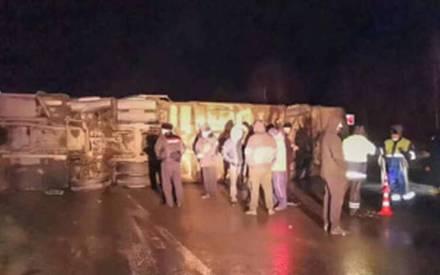 «Занесло на трассе»: в результате аварии с автобусом 17 человек пострадали, есть тяжелораненые