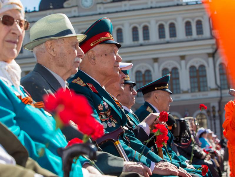 В мае проезд на пригородных поездах Казани для ветеранов войны будет бесплатным