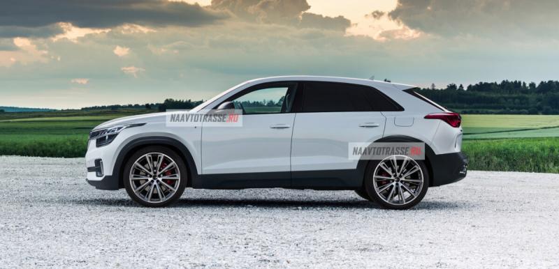 Абсолютно новый KIA Seltos 2021 для России впервые показали на фото. Теперь он в кузове кросс-купе