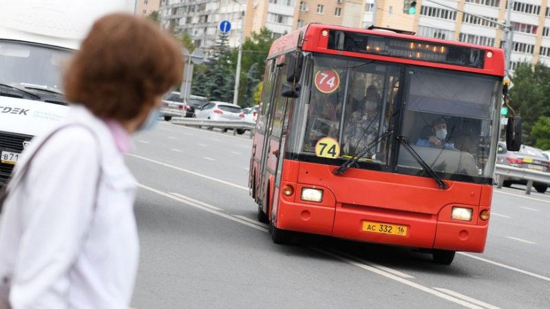 Автобус №74 в Казани курсирует по обновленному маршруту