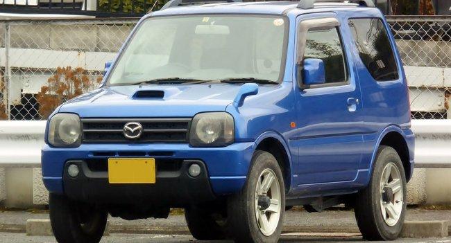 Миниатюрный внедорожник Mazda AZ-Off road: Когда малое значит так много