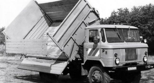 САЗ 3511 — первый полноприводный советский самосвал на базе ГАЗ-66
