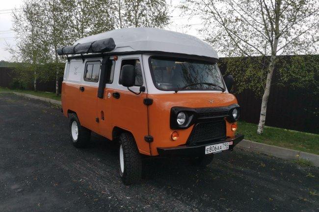 УАЗ «Байкал» — кемпер для любителей путешествий