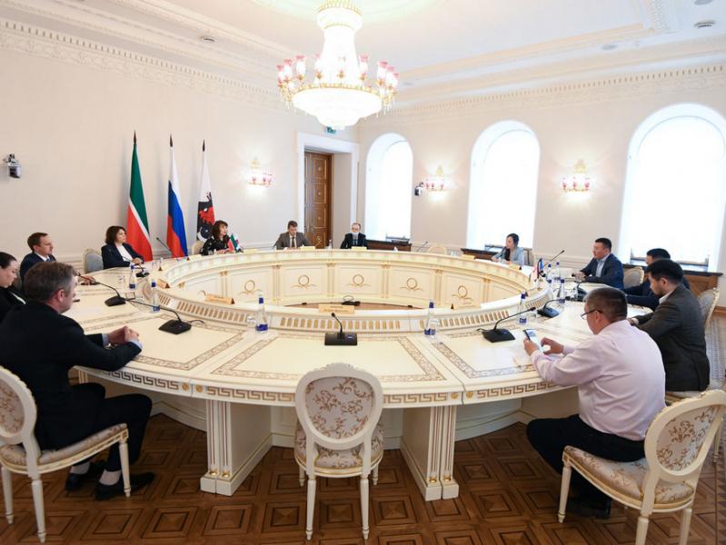 В Ратуше прошла встреча представителей Исполкома Казани с делегацией Якутска