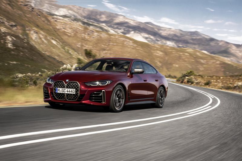 BMW официально представил новый 4-Series Gran Coupe 2022