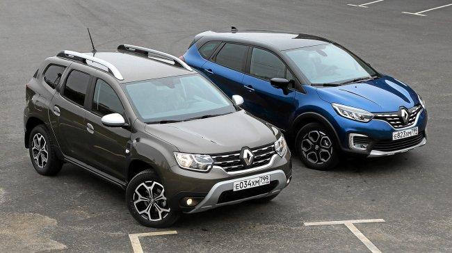 Что лучше: Renault Duster и Renault Kaptur