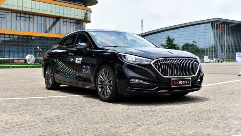 FAW представил новый водородный седан Hongqi H5-FCEV 2021