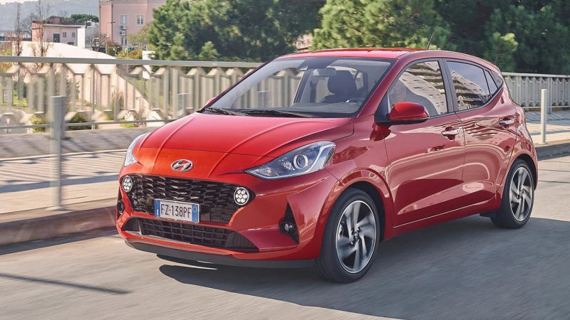 Компания Hyundai подготовила обновление для i10 2021