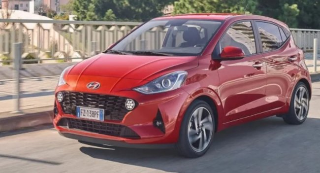 Компания Hyundai подготовила обновление для i10