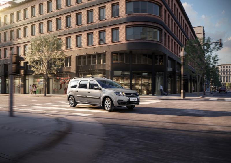 Lada Largus побила собственные рекорды продаж в 2021 году