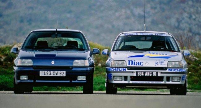 Названы знаковые дорожные автомобили Renault Sport