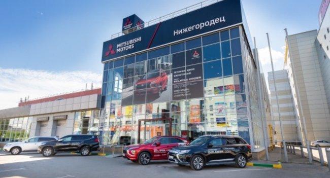 Новый дилерский центр Mitsubishi Motors открылся в Нижнем Новгороде