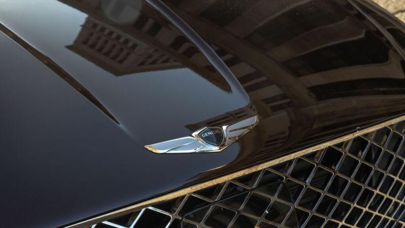 Новый Genesis GV60 EV 2022 попал в объективы фотошпионов