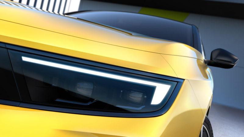 Opel опубликовал официальные фотографии новой Astra 2021