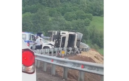 Под Казанью на Кощаковском спуске в ДТП погиб водитель грузовика