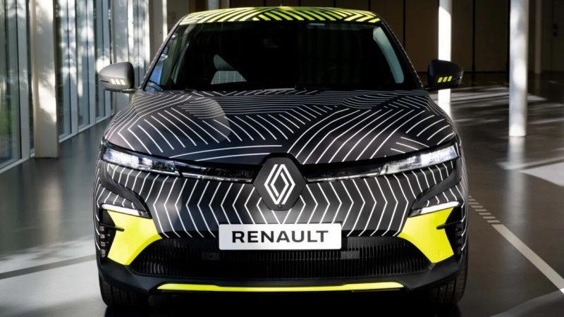 Renault представил первые тизеры Megane E-Tech Electric 2021