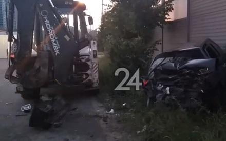 Смертельное ДТП произошло в Казани на Оренбургском тракте