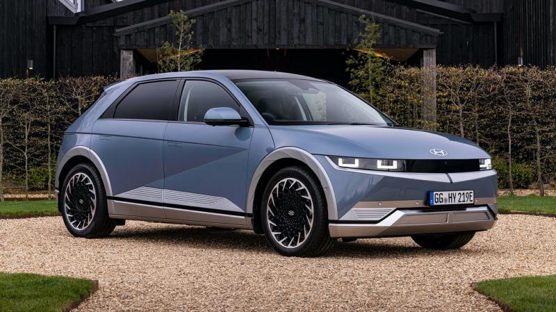 Стартовали продажи нового кроссовера Hyundai Ioniq 5 2022