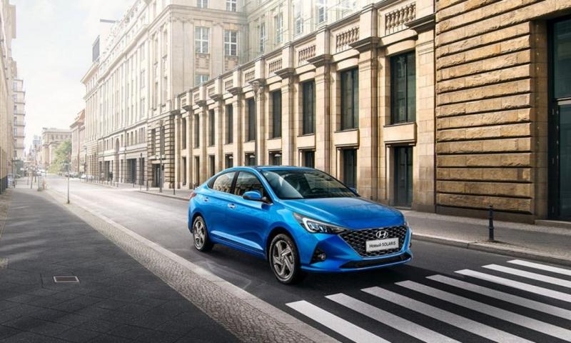 В России заметили необычную версию Hyundai Solaris 2021