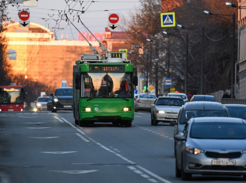 Движение троллейбусов 13-го маршрута в Казани восстановлено