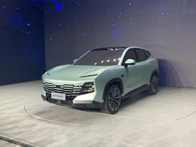 Chery показала новый концепт-кар Jetour X-1 2021