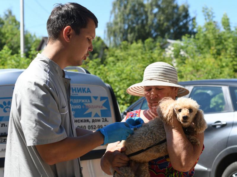 24 июля мобильный пункт вакцинации и стерилизации собак приедет в поселок Северный
