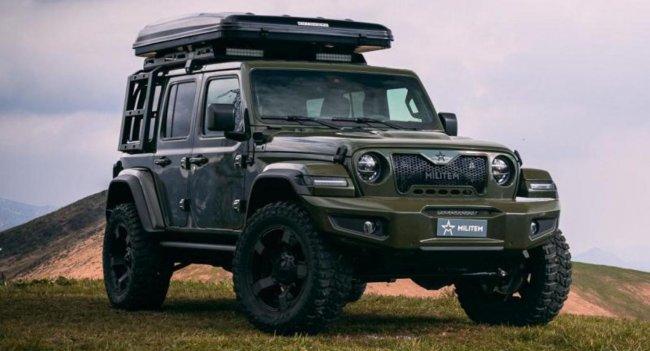 Militem Ferox Adventure – Jeep Wrangler в итальянском костюме