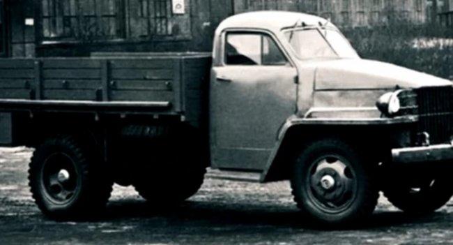 Самые необычные прототипы грузовиков ГАЗ-51 и ГАЗ-63