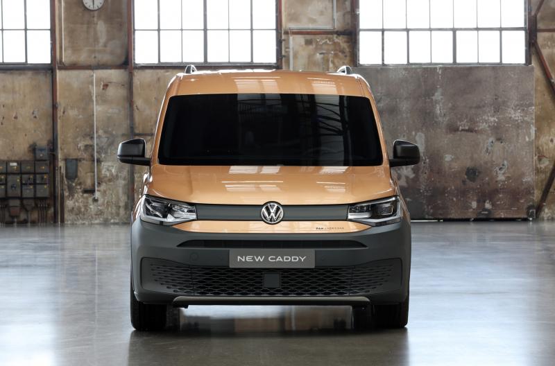 В России стартовали продажи Volkswagen Caddy PanAmericana 2021