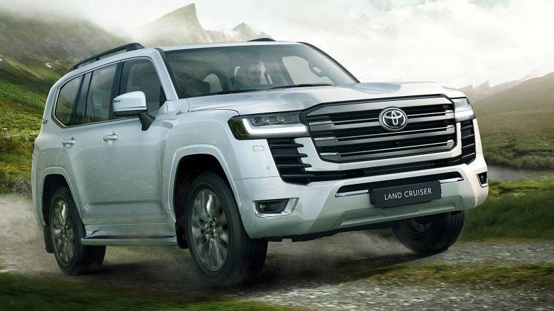 В России стартовали «живые» продажи нового Land Cruiser
