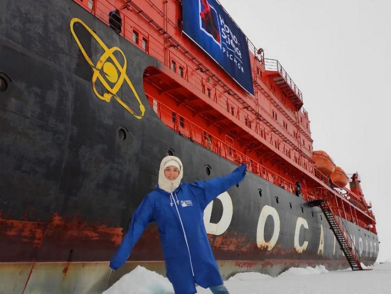 Из Казани на Северный полюс – школьница из столицы РТ побывала в одном из самых холодных мест планеты