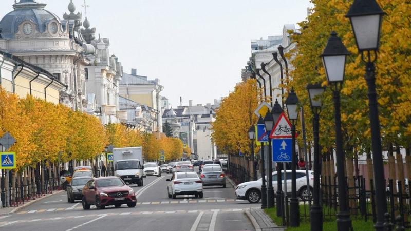 В Казани по маршруту «Ночного велофеста-2021» будет ограничено движение транспорта
