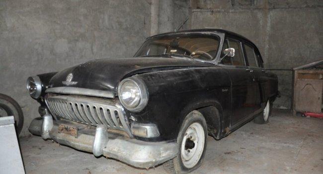 Дизельная ГАЗ-21 «Волга» бельгийской сборки, простоявшая 30 лет в гараже