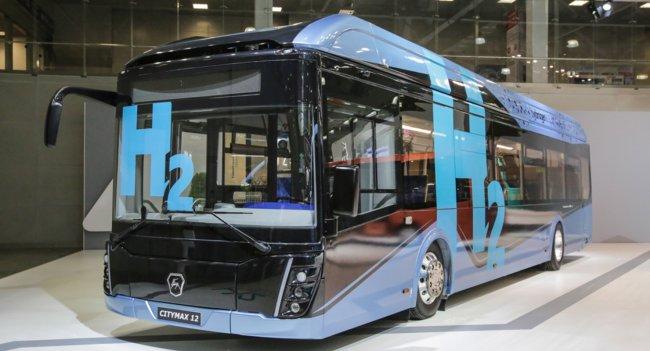«Группа ГАЗ» представляет на выставке COMTRANS электробусы на водородном топливе