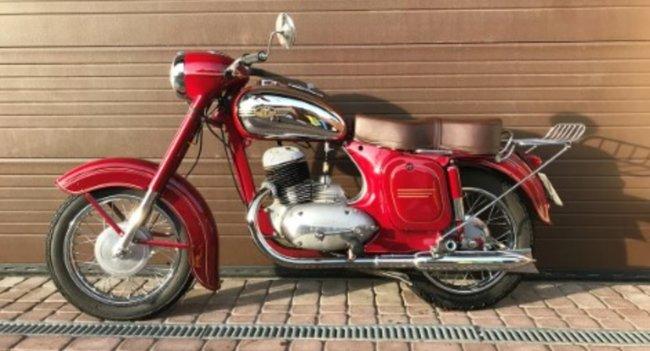 Ява 250 353: один из самых красивых мотоциклов в СССР