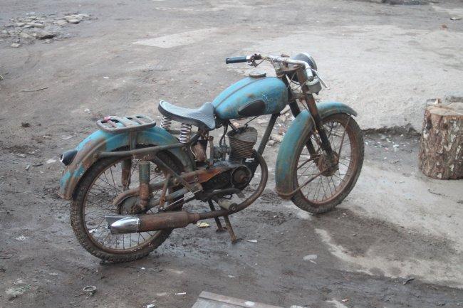 К-55 — одиночный мотоцикл с завода имени Дегтярева