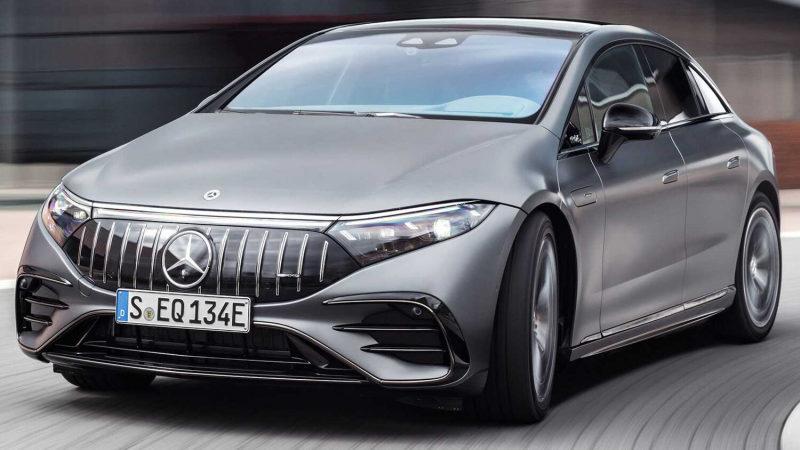 Mercedes-AMG представил 761-сильный лифтбек EQS 53