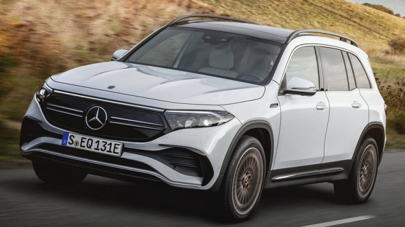 Mercedes-Benz представил глобальную версию электрокросса EQB