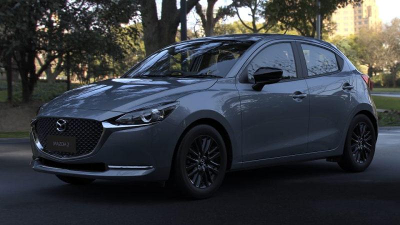 Модель Mazda 2 2021 вышла в новом исполнении Pure SP