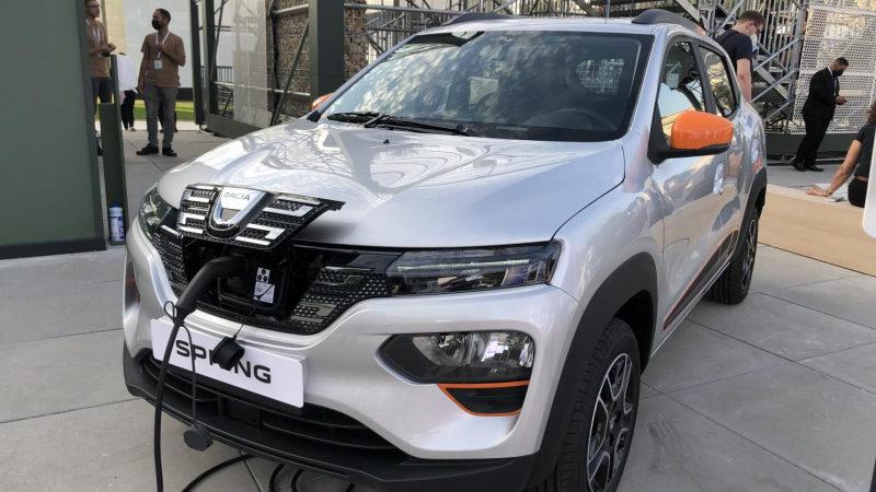 На мюнхенском автошоу показан Dacia Spring Electric 2021