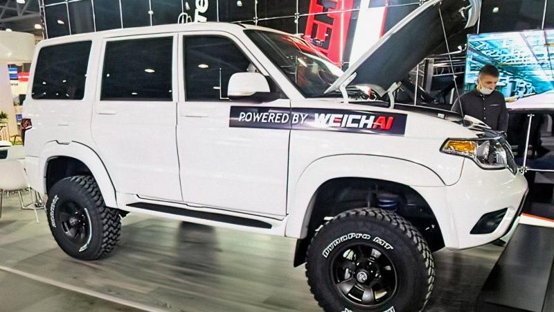 На выставке COMTRANS представлен УАЗ Патриот 2021 с дизелем