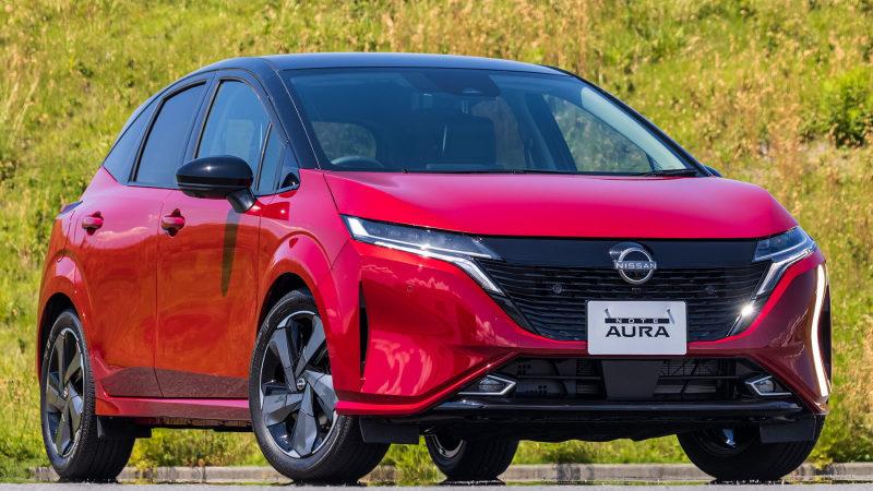 Nissan зафиксировал ажиотажный спрос на Note Aura