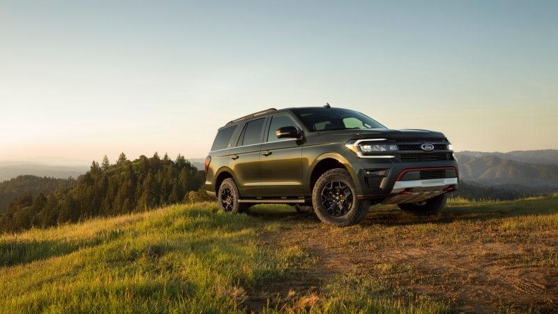 Представлен новый Ford Expedition 2022 года в версии Timberline