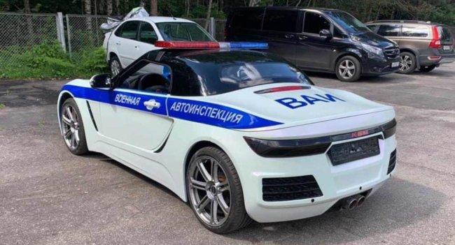 Разработчики родстера «Крым» подготовили специальную версию для полиции