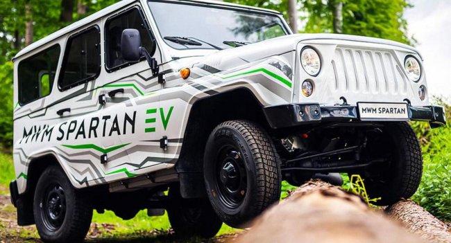 УАЗ представил внедорожник Hunter с электродвигателем