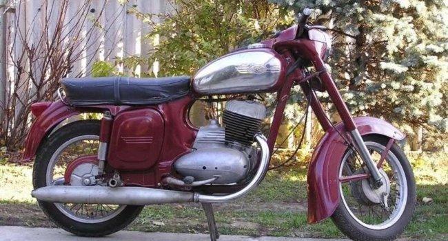 В каких цветах выпускались мотоциклы марки «Ява»